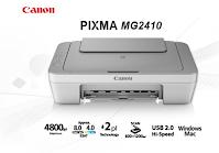 Canon PIXMA MG2410 Driver Download
