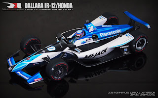 Dallara IR-12/Honda - Takuma Sato - Indianapolis 500 (Pole Day 2018) 1/12 PDF by Sunny78