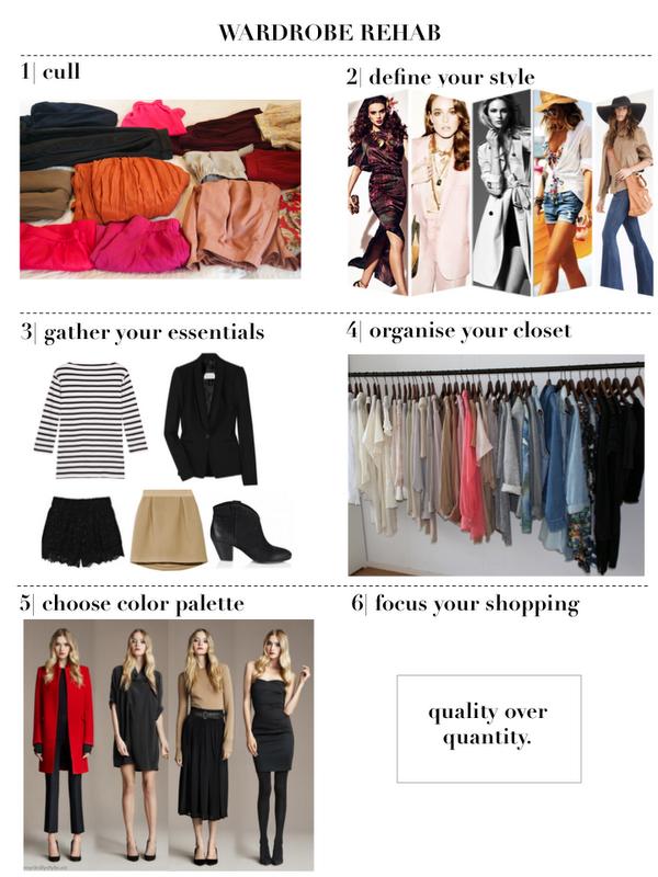 Wardrobe Rehab The Perfect Wardrobe Essentials: Wardrobe Rehab - 6 Steps To Your Perfect Closet