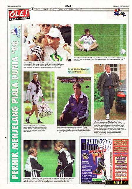 PERNIK MENJELANG PIALA DUNIA '98