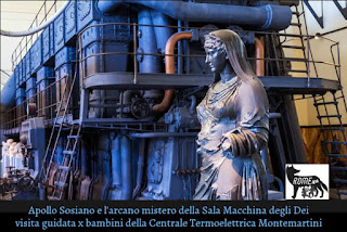 L'arcano Mistero della Sala Macchine degli Dei e del Treno a Vapore del Papa - Visita guidata per bambini al Museo della Centrale Termoelettrica Montemartini