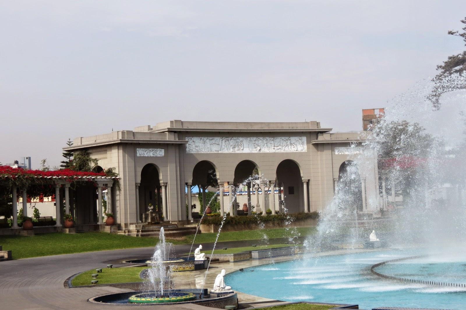 Parque da Reserva em Lima
