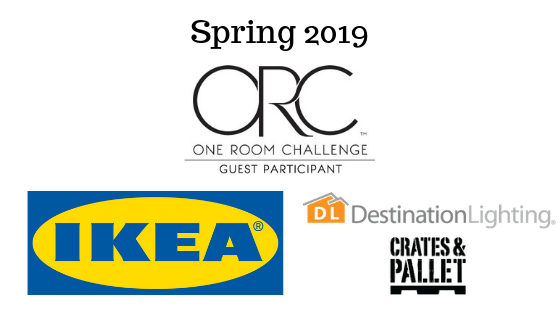 It's that time again! For the One Room Challenge this spring, we're creating a moody, cozy reading room. This is week one! Come see the plans and stick around for the 6 week adventure!