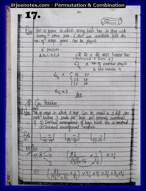 Permutation and Combination notes6