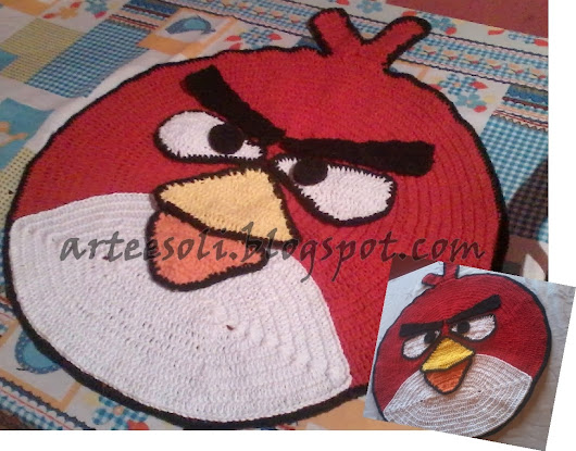 Tapete Infantil Angry Birds