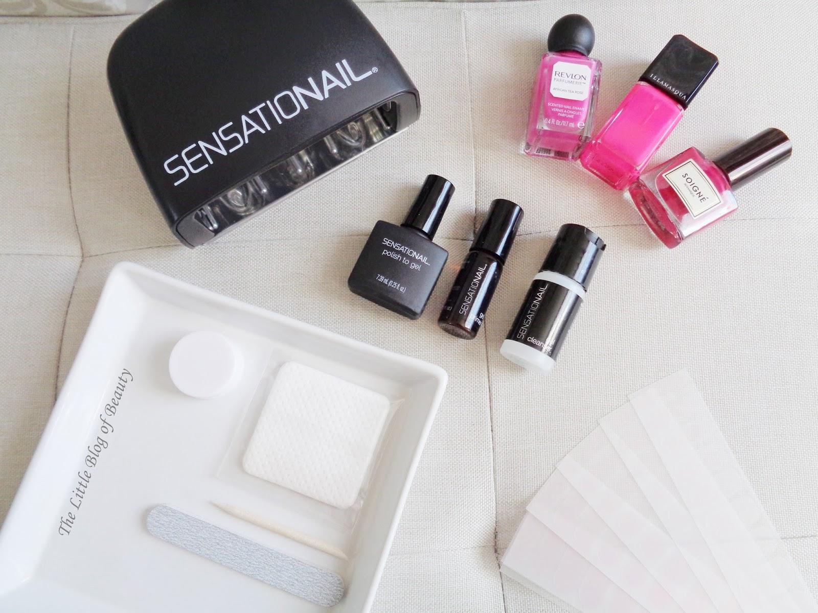 Sensationail Polish To Gel Transformer Starter Kit Amp Nail Shields The Little Blog Of Beauty