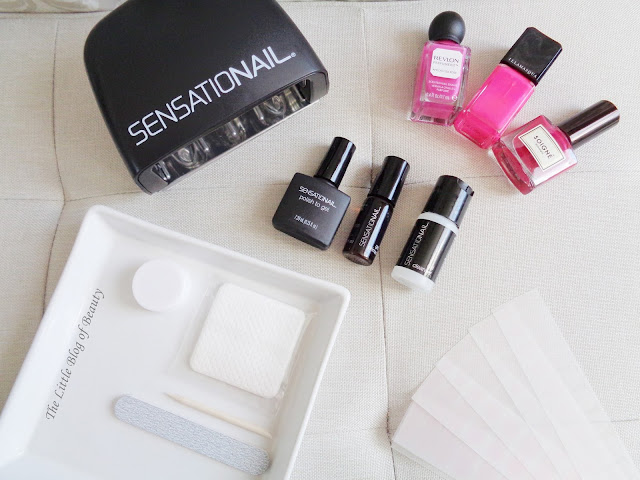 SensatioNail polish to gel transformer starter kit & nail shields