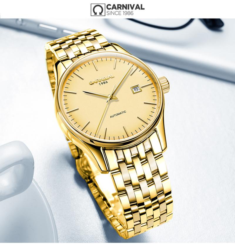 đồng hồ vàng tinh tế