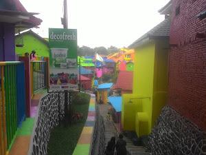 Catatan Kampung Warna Warni  Dimalang Jodipan