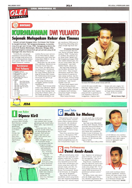 PROFIL BINTANG KURNIAWAN DWI YULIANTO