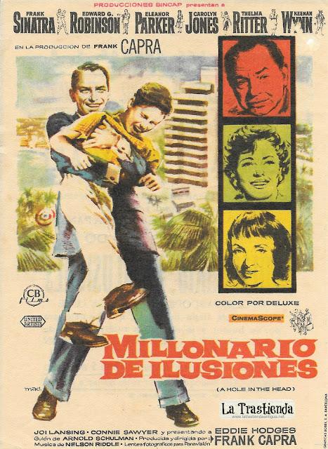 Millonario de Ilusiones - Programa de Cine - Frank Sinatra - Eleanor Parker - Edward G. Robinson