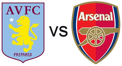 Prediksi Skor Aston Villa vs Arsenal 25 November 2012