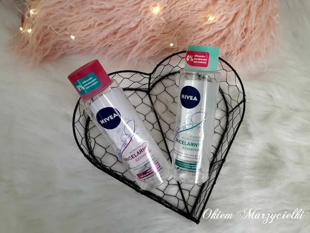 BITWA: Wzmacniający vs Głęboko oczyszczający micelarny szampon, Nivea- recenzje #65