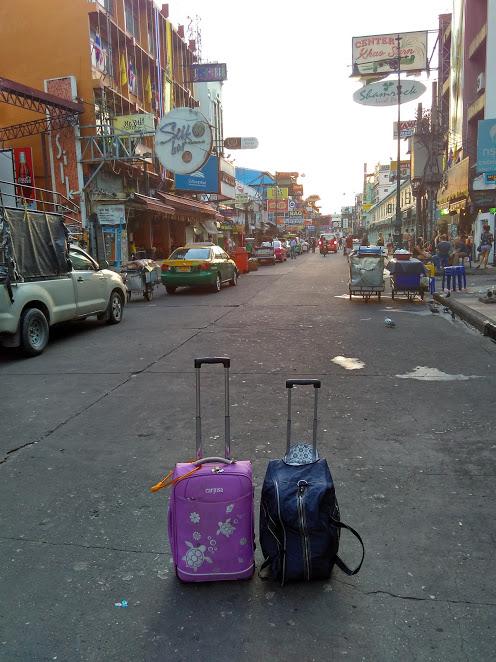 mala Khaosan Road Bangkok Tailândia Ásia