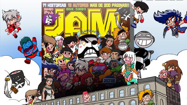 """Presentación de la revista """"One-Shot Jump"""" en Barcelona, un homenaje al 50 aniversario de la Shônen Jump"""