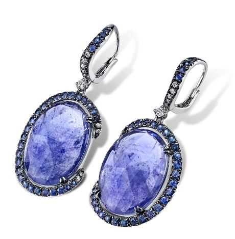 Indigo Tanzanite Earrings