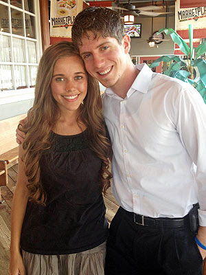Jessa Duggar and Ben Seewald on their first date