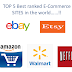 TOP 5 BEST RANKED E-COMMERCE SITES IN THE WORLD