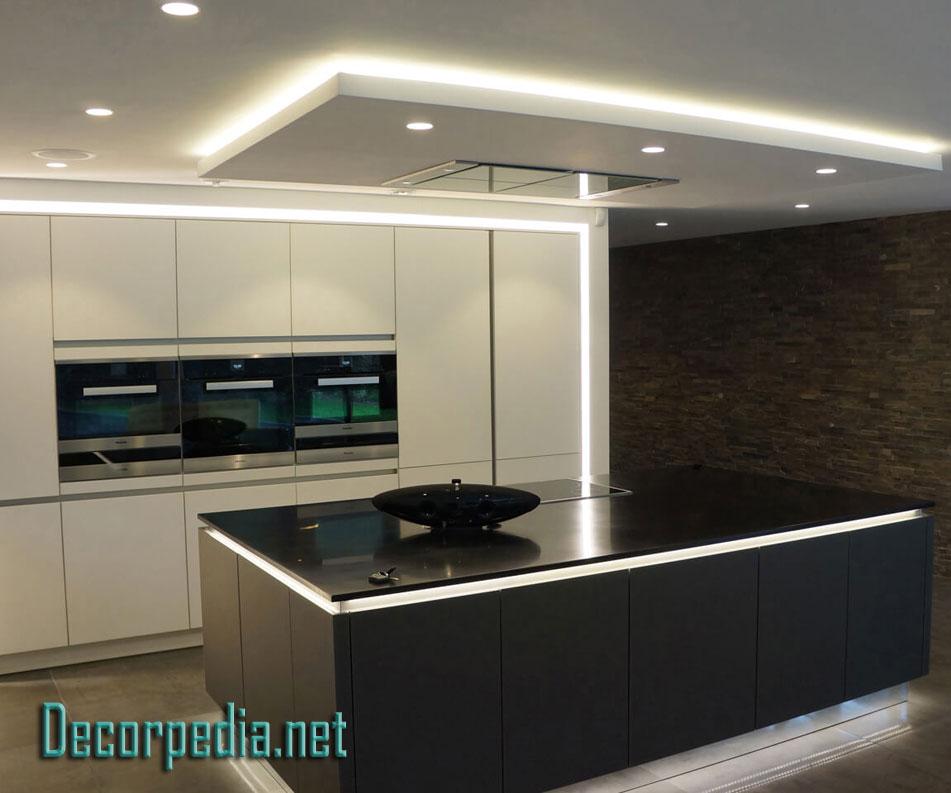 Home Architec Ideas Unique Kitchen Ceiling Design