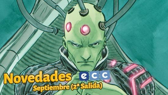 ECC Ediciones: Novedades de Septiembre de 2017 (Segunda Salida)