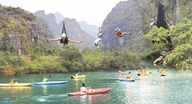 Quảng Bình là điểm đến hấp dẫn với khách du lịch trong và ngoài nước