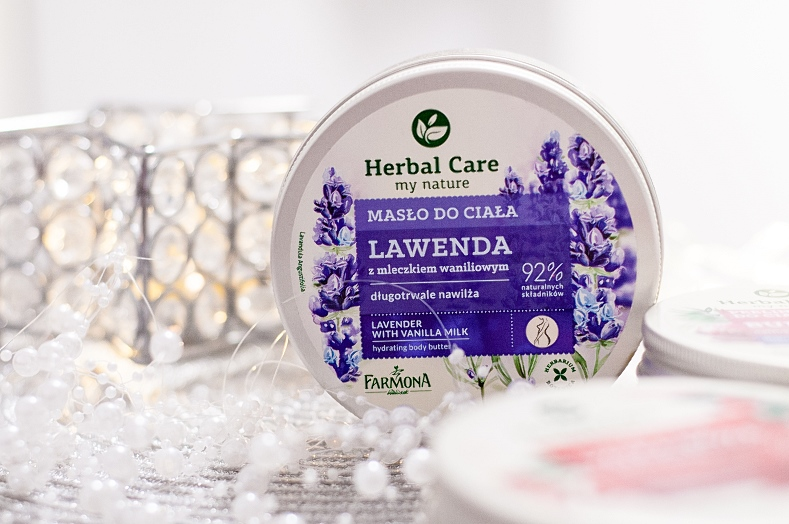 Masła i peeling do ciałą Herbal Care