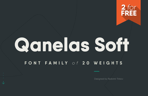 Qanelas Soft Free Font