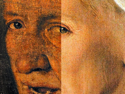 Giorgione s Painting  La Vecchia  Gets a Facelift Before Traveling from Venice to the USA