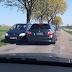 Niekulturalne zachowanie niemieckiego kierowcy [video]