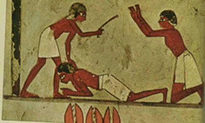 Ancient egyptian laws and punishments