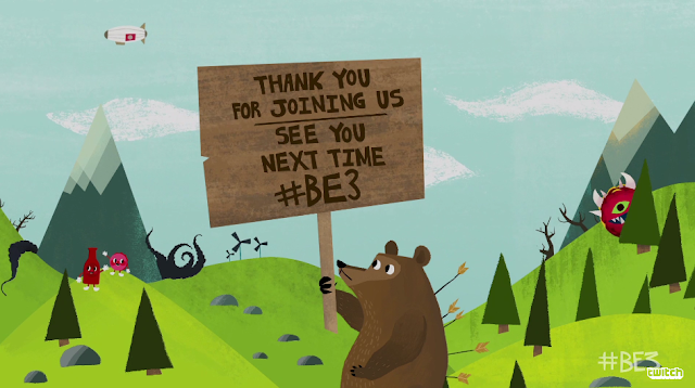 Bethesda E3 2017 bear thank you for joining us see you next time sign