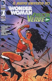 Wonder Woman Freccia verde cover