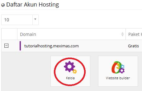 cara hosting gratis web