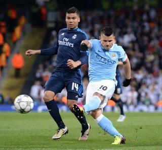 Manchester City 0-Real Madrid 0. Semis Champions (ida)