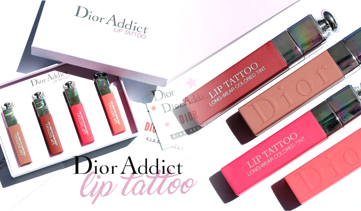 Dior Lip Tattoo Swatches Review By Nailderella