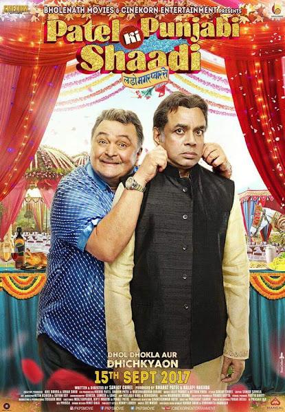 Poster of Patel Ki Punjabi Shaadi 2017 Full Movie [Hindi-DD5.1] 720p DVDRip ESubs Download