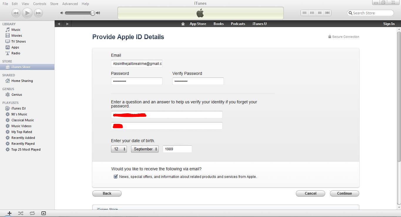 how to create another apple id account