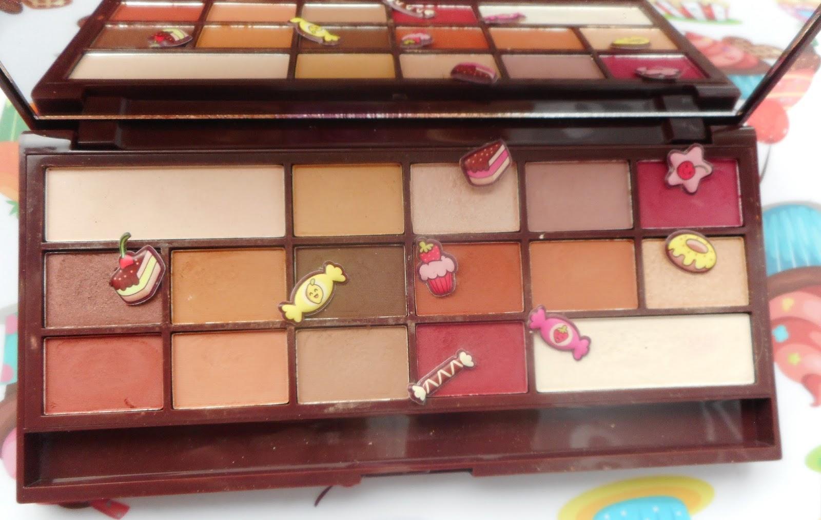 Zaawansowane Makijaż paletką MAKEUP REVOLUTION Chocolate Elixir | Wszystkie KY08