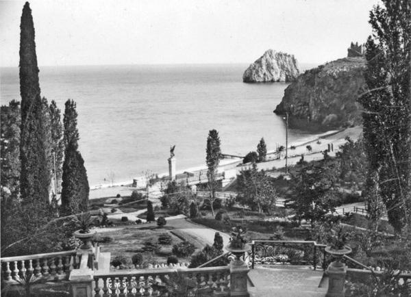 Курорт Суук-Су. Вид от Казино, 1904. Фото: Василий Сокорнов