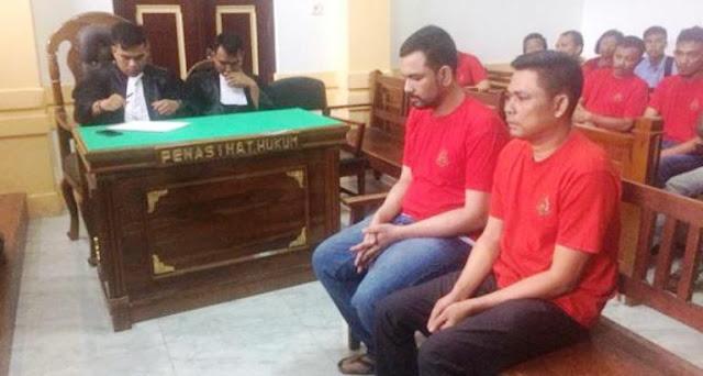 Penyelundup 100 Kg Sabu di Medan Divonis Hukuman Mati