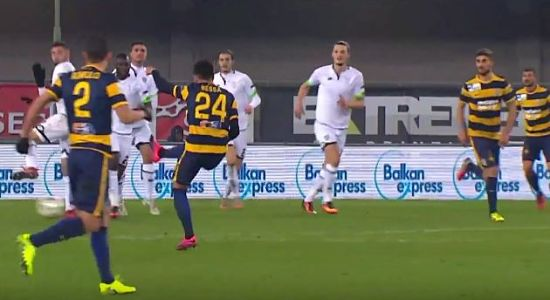 Hellas Verona-Cesena 3-0 HIGHLIGHTS