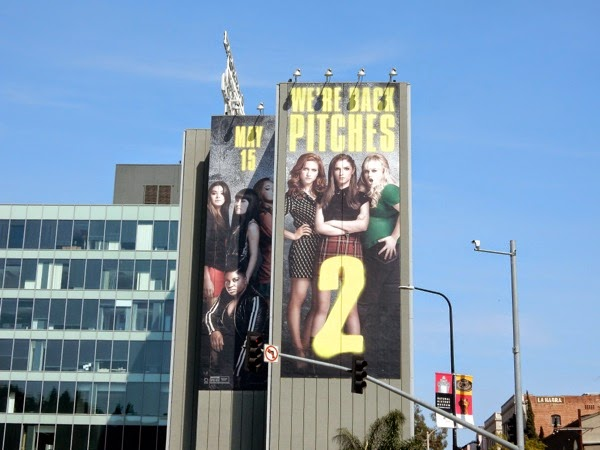 Pitch Perfect 2 movie billboard