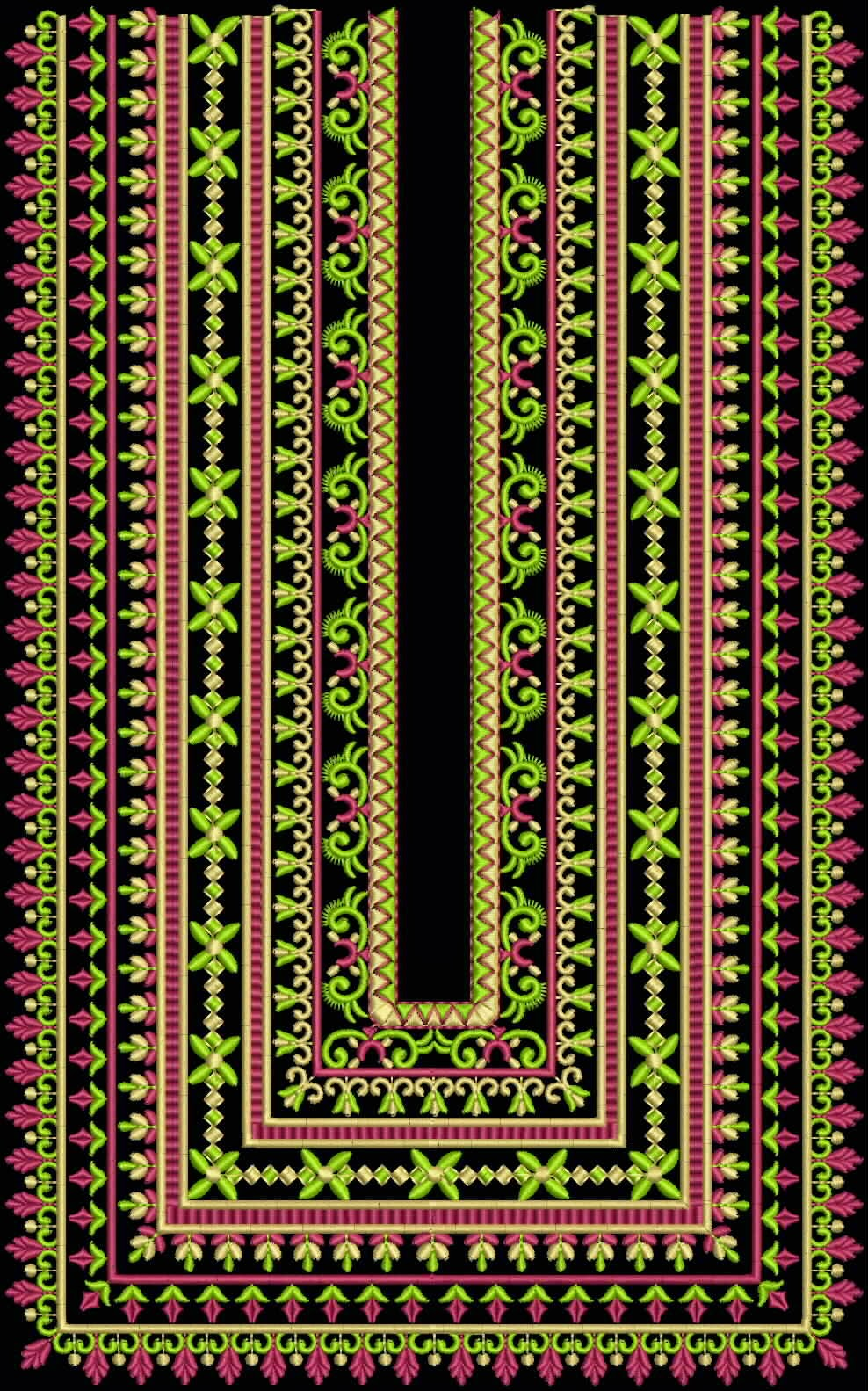 New Sindhi Embroidery Designs