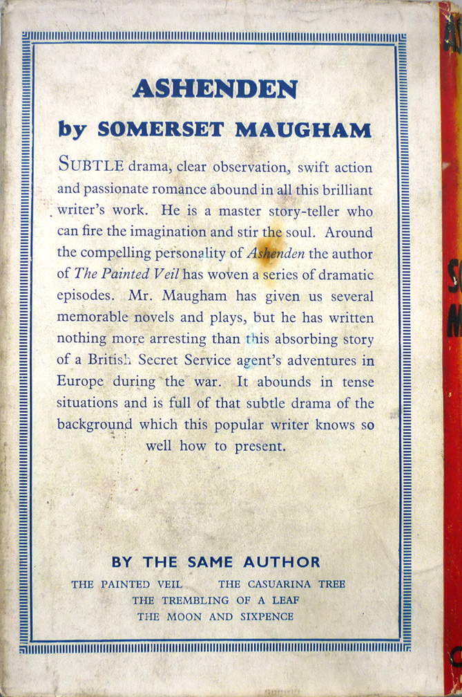 a friend indeed somerset maugham Religion and catholicism in the razor's edge  somerset maugham  god, someone might say after being intellectually persuaded that such is indeed the.
