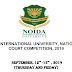 2 nd NOIDA INTERNATIONAL UNIVERSITY, NATIONAL MOOT COURT COMPETITION, 2019