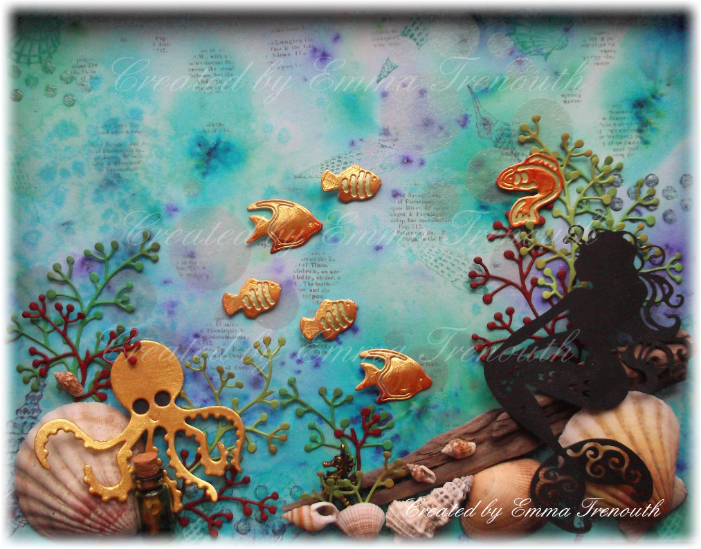 Trenouths Crafty Creations Under The Sea Mixed Media Picture