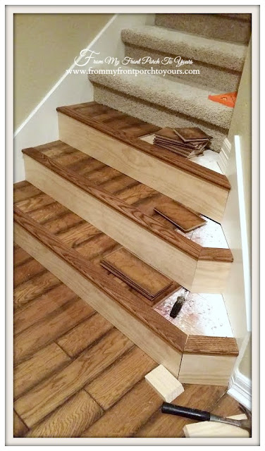 Stair-Renovation-Flooring-Oak-From My Front Porch To Yours