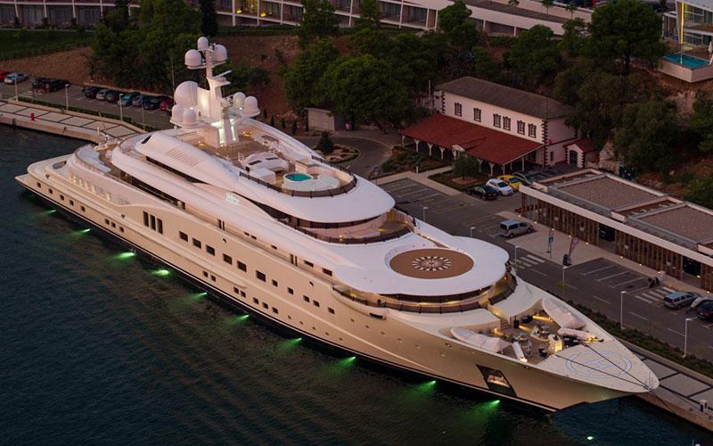 Топ 10 дорогих яхт мира