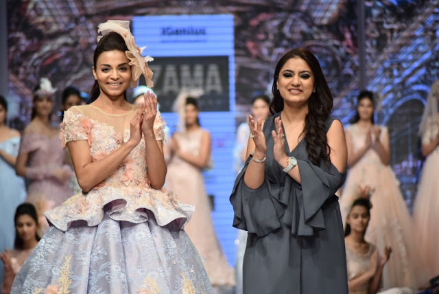 Show stopper Model Ankita With Designer Anjali Sahani