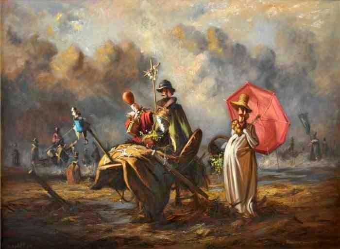 Сербский художник. Goran Mitrovic